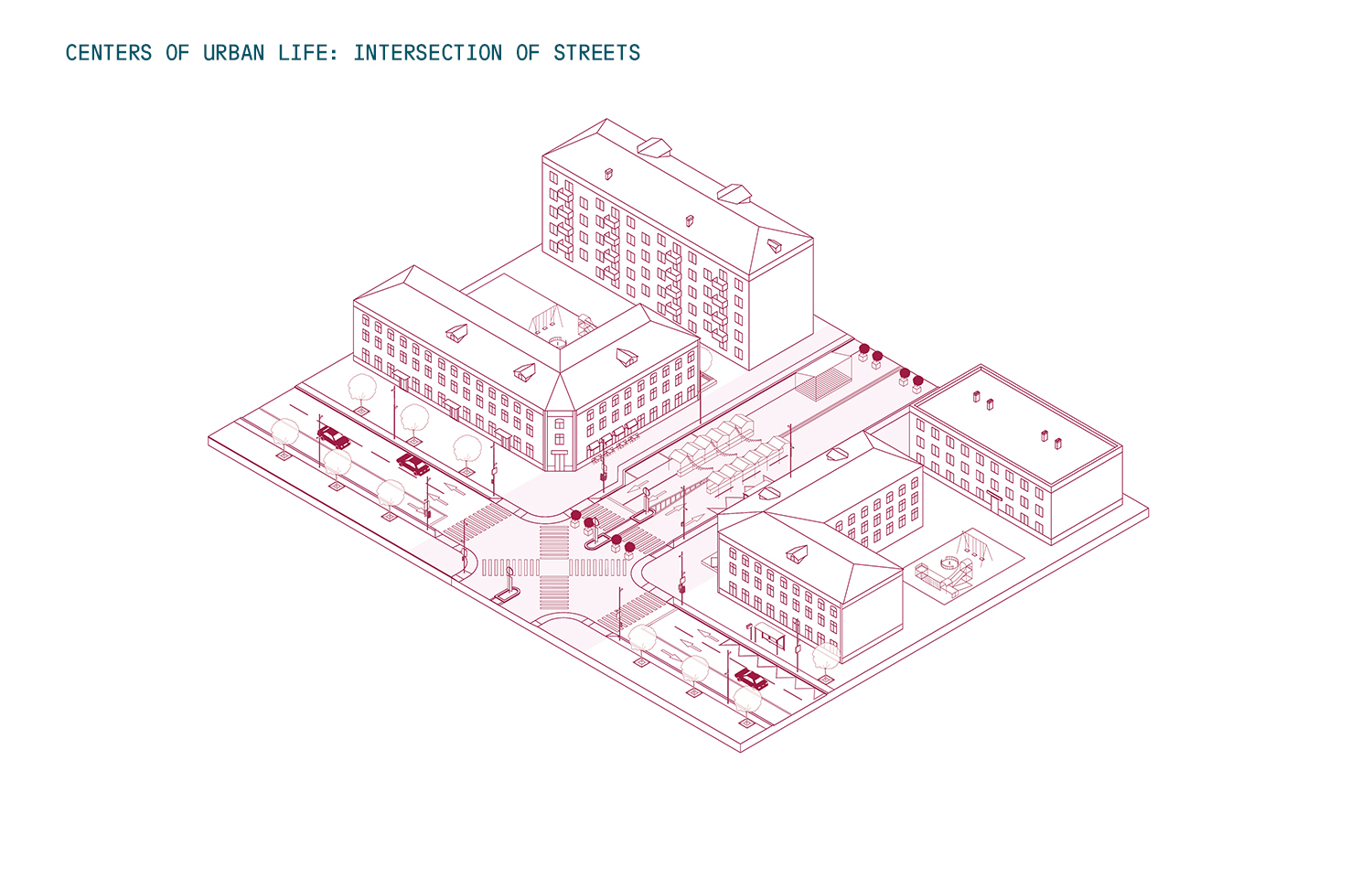 Centers of urban life_intersection of streets Strelka KB}