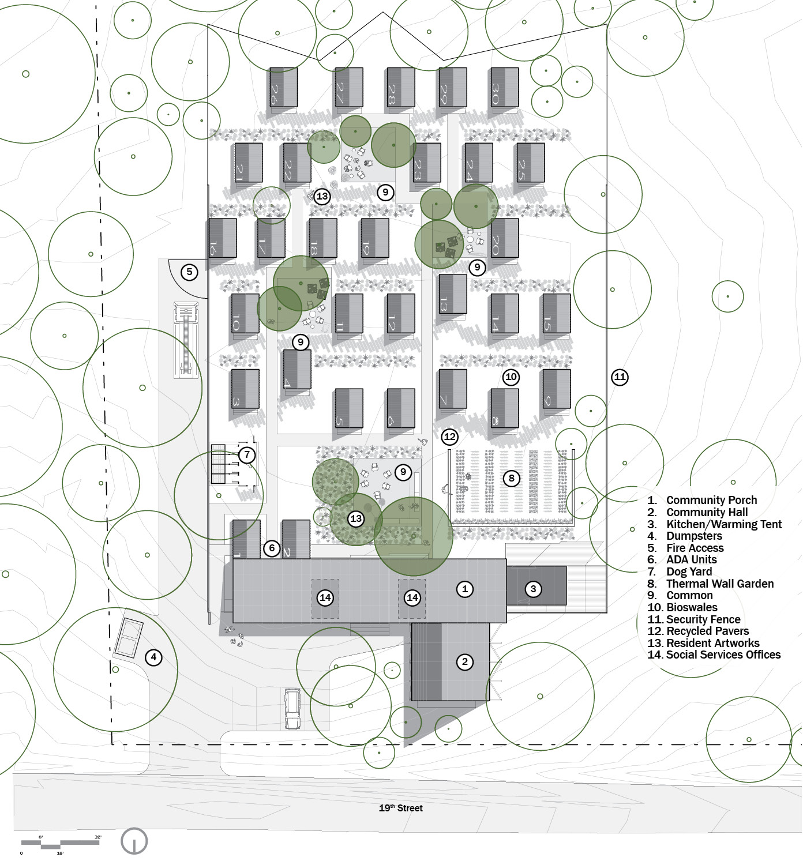 Master Plan University of Arkansas Community Design Center}
