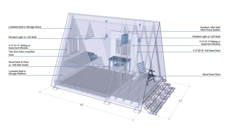 Sleeping Unit University of Arkansas Community Design Center}