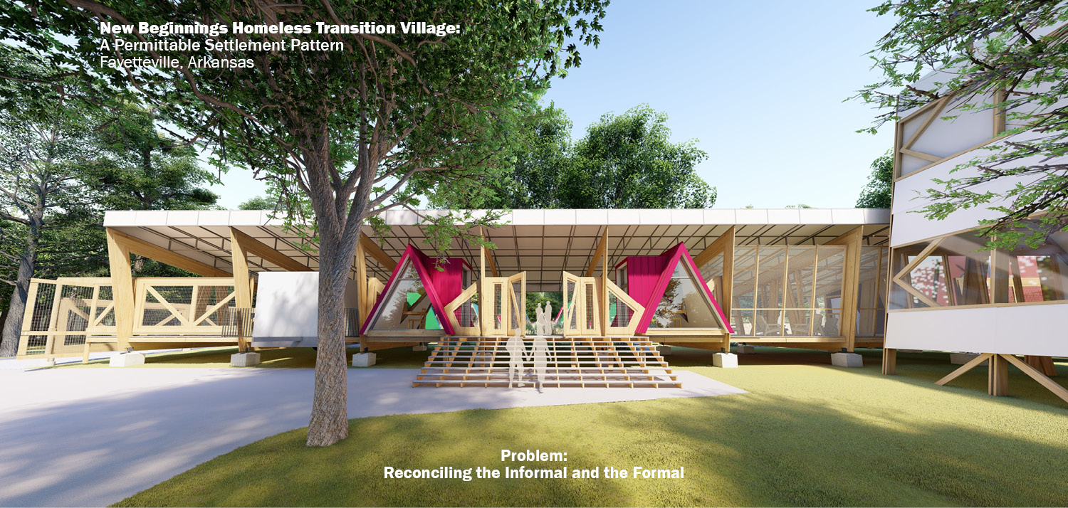 Problem: Reconciling the Informal and the Formal University of Arkansas Community Design Center