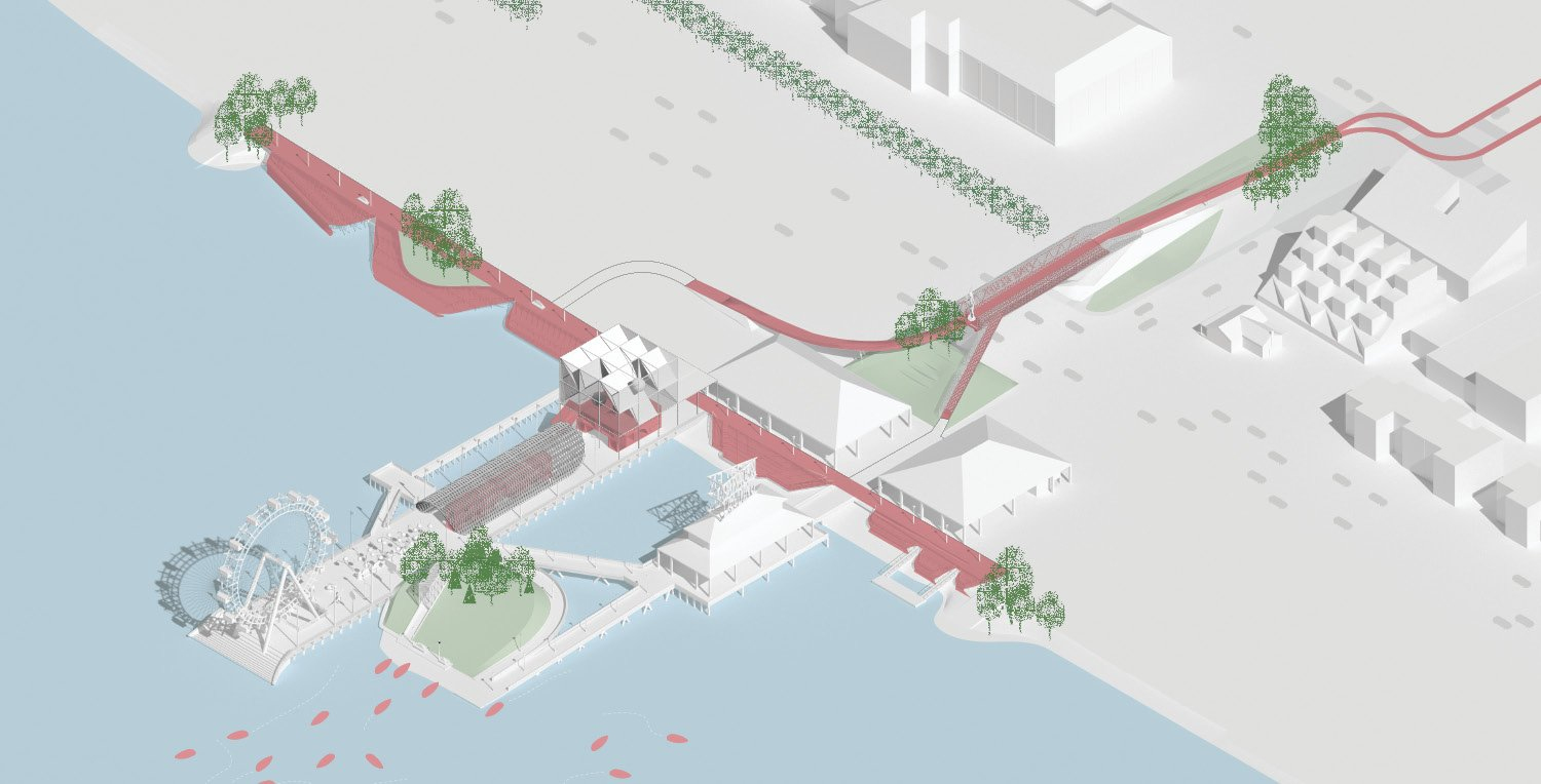 The Wharf at Pine Bluff: Re-Stitching City and Water University of Arkansas Community Design Center}