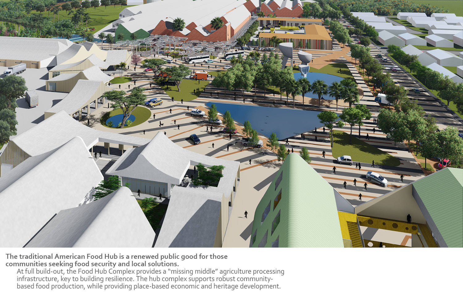 The traditional American Food Hub is a renewed public good for those communities seeking food security and local solutions. University of Arkansas Community Design Center