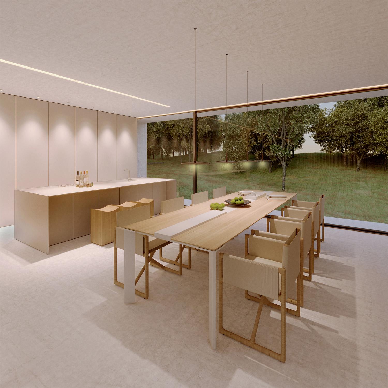 zona pranzo-cucina Arch. Salvatore Terranova