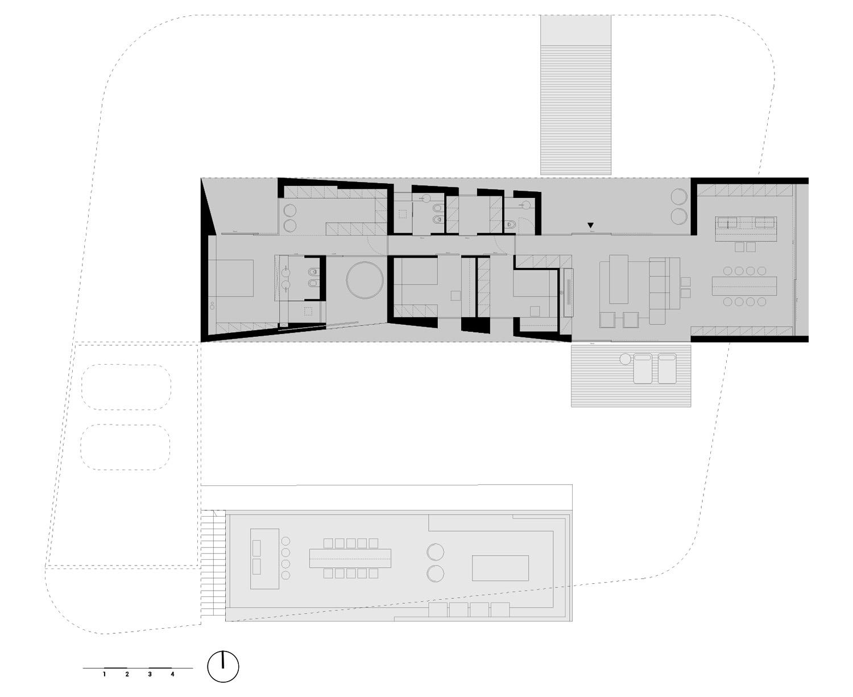 Planimetria di progetto Arch. Salvatore Terranova - Ing. Giorgia Testa}