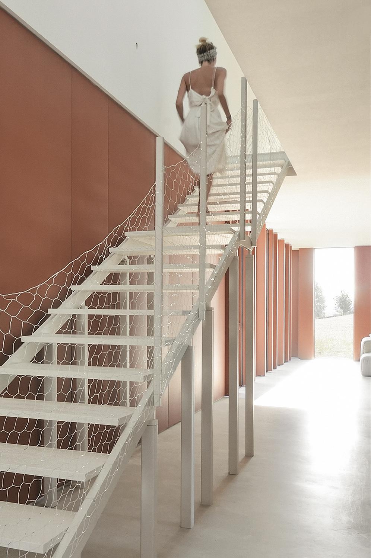 stair detail Alessandro Magi Galluzzi