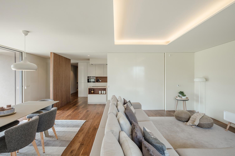 Living room and kitchen João Morgado
