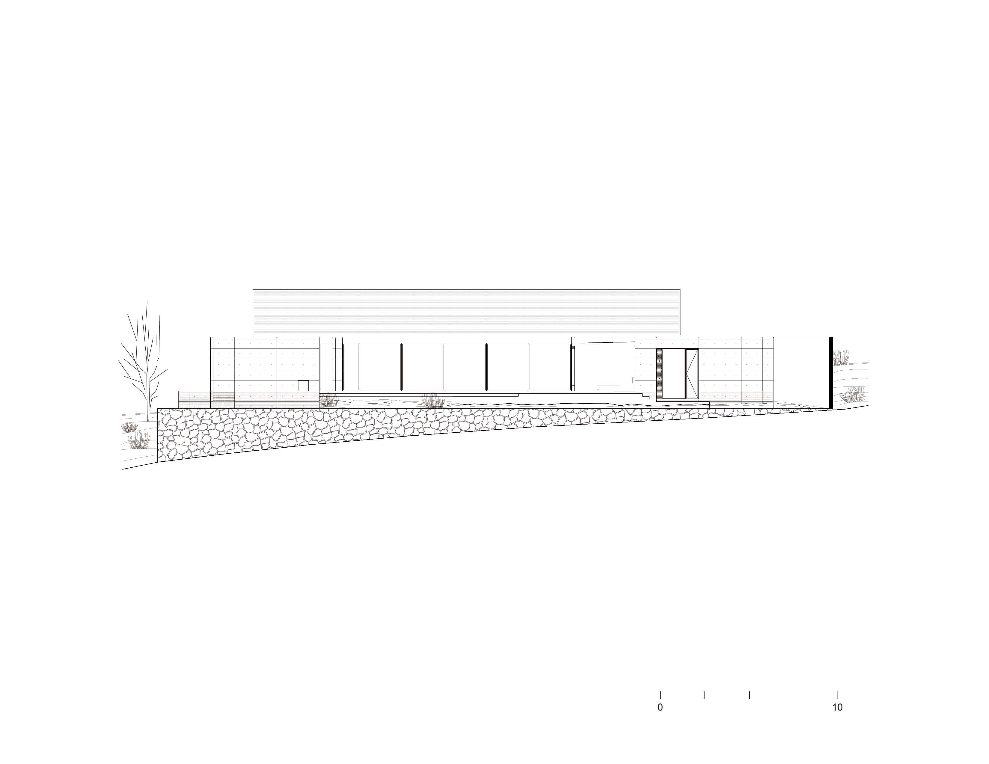Facade 02 Bernardo Quinzaños, Ignacio Urquiza, Centro de Colaboración Arquitectónica}