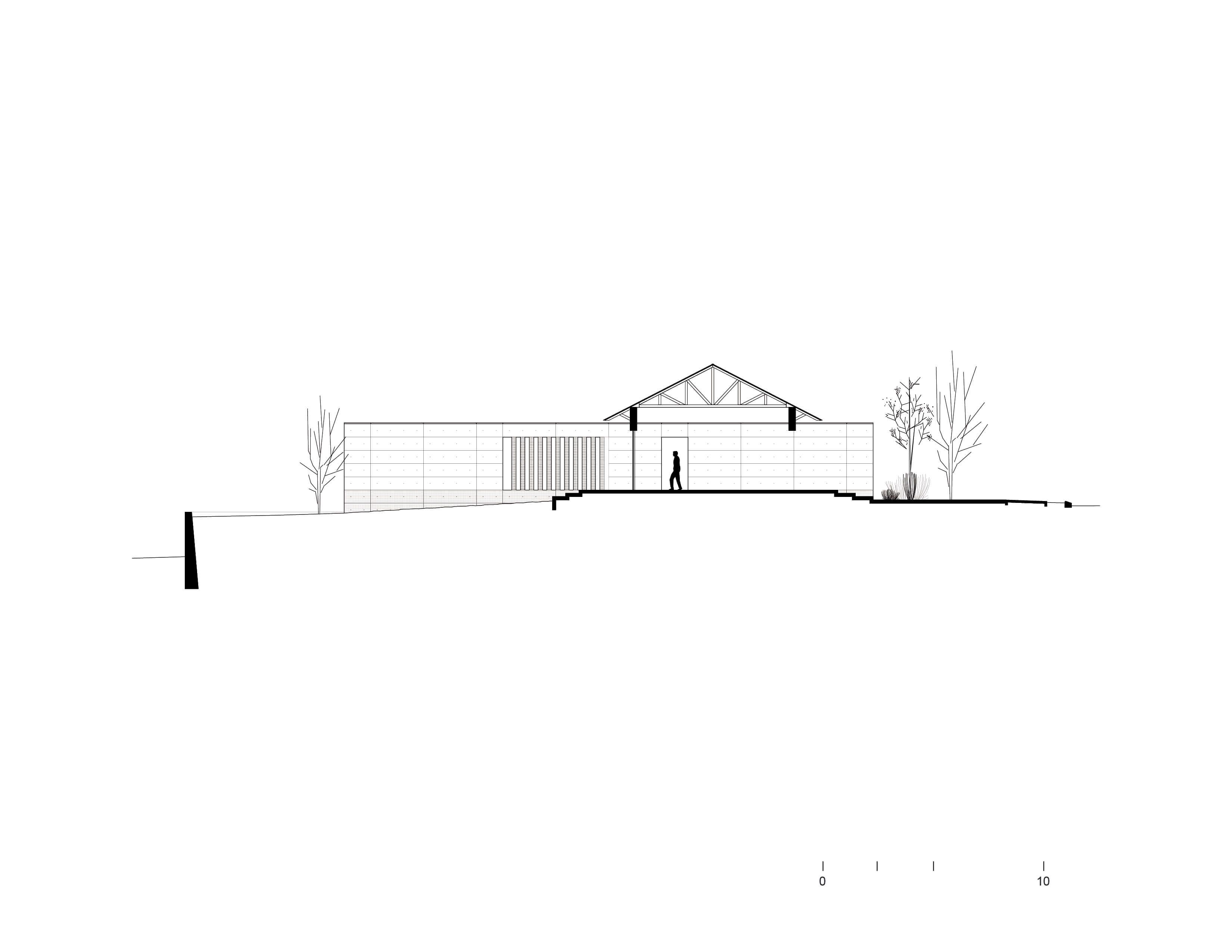 Facade 03 Bernardo Quinzaños, Ignacio Urquiza, Centro de Colaboración Arquitectónica}