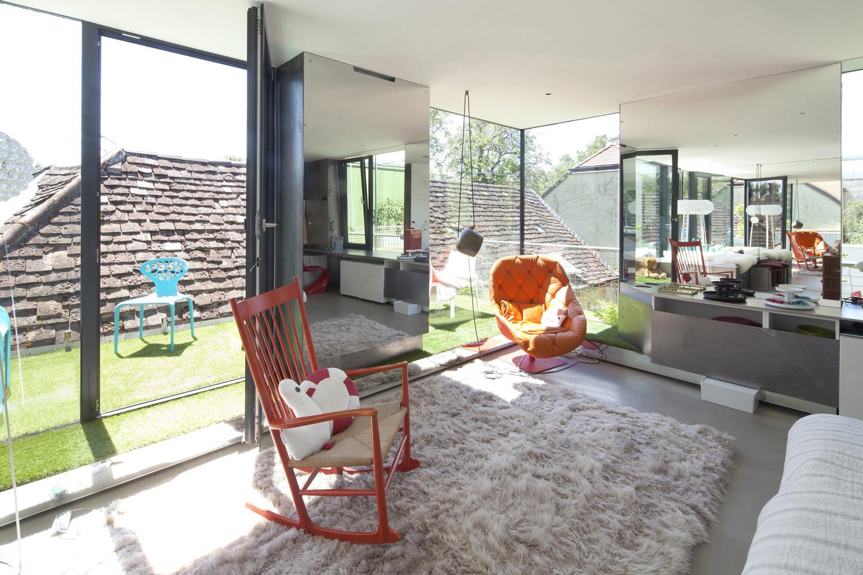 master bedroom (first floor) photographer: rois&stubenrauch