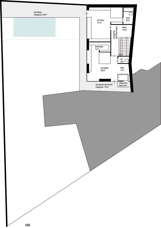 second floor 1:100 Caramel}