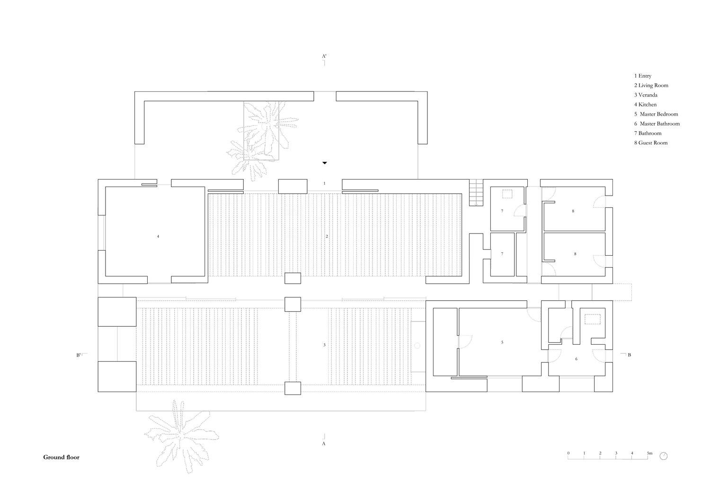 Plan ground floor MORQ}
