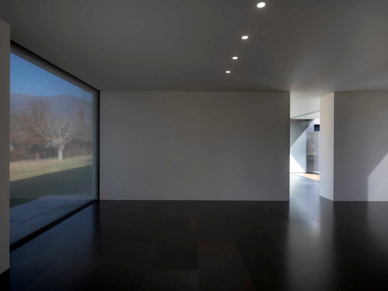 Vista degli interni del volume di rappresentanza Marco Zanta