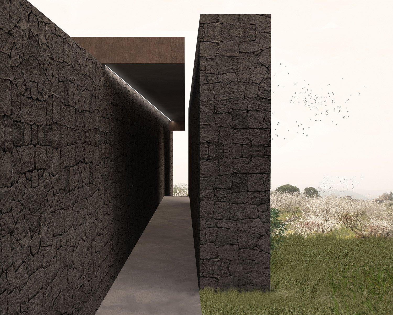 Rendering-Dettaglio Esterno Claudio Grasso & Federica Miranda Architects