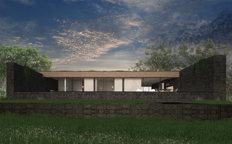 Rendering-Vista Sud Claudio Grasso & Federica Miranda Architects