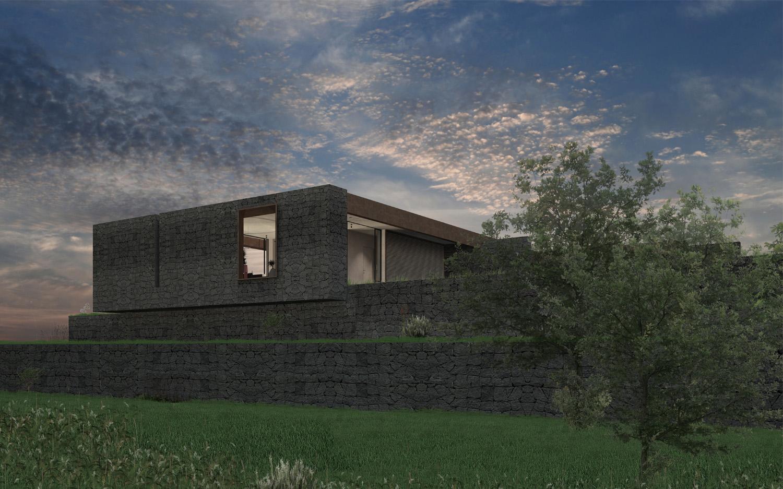 Rendering-Vista Nord-Est Claudio Grasso & Federica Miranda Architects