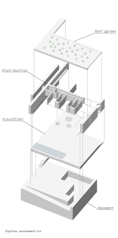 Esploso Assonometrico Claudio Grasso & Federica Miranda Architects}