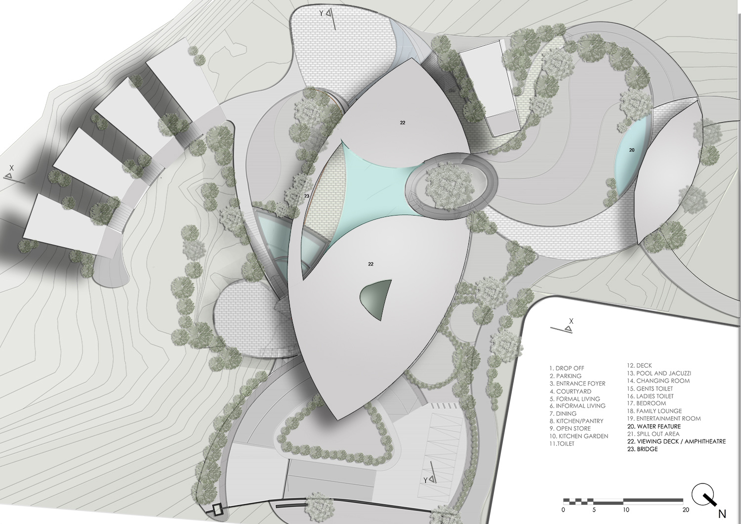 ROOF PLAN KNS ARCHITECTS}