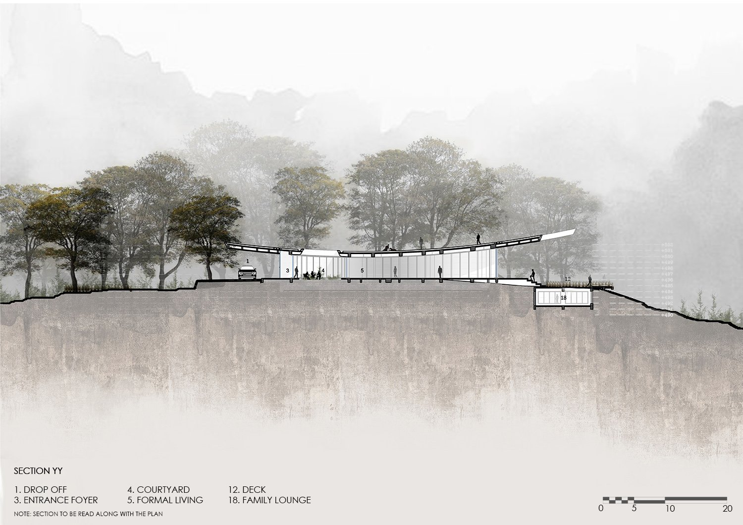 TRANSVERSE SECTION KNS ARCHITECTS}