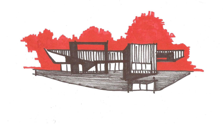 Sketch (façade) Lina Malfona}