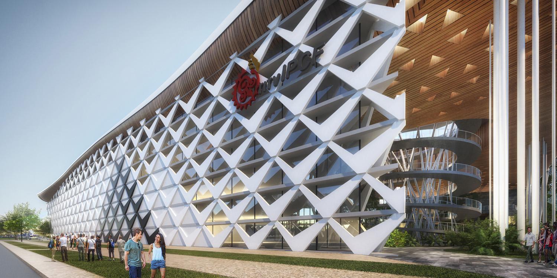 south facade J.A.Chen Architects & Associates