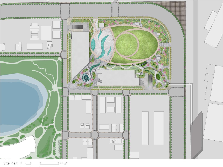 site plan J.A.Chen Architects & Associates}