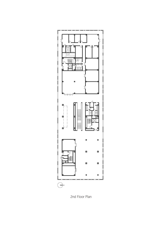 2nd Floor Plan Studio A+}
