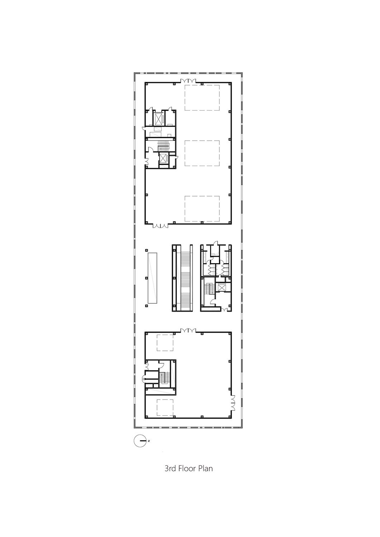 3rd Floor Plan Studio A+}