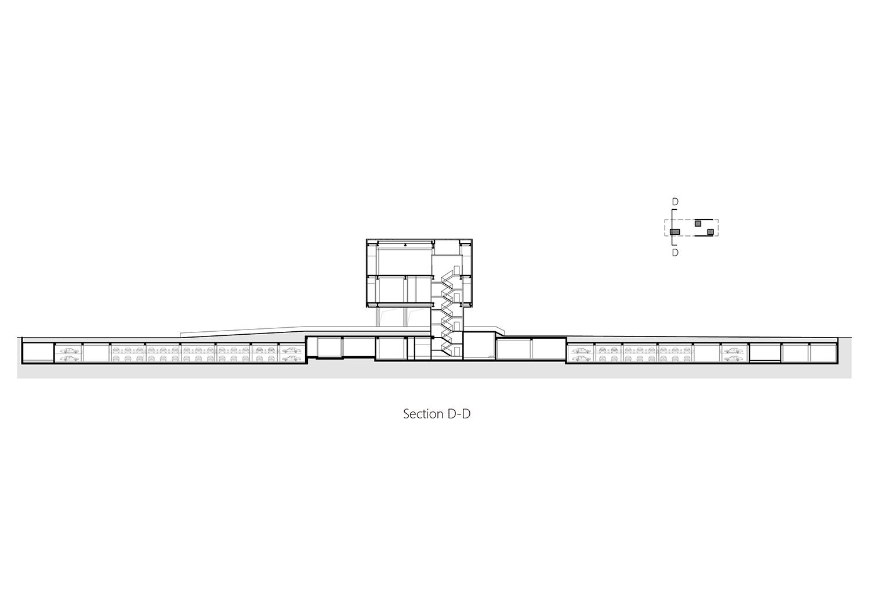 Section D-D Studio A+}