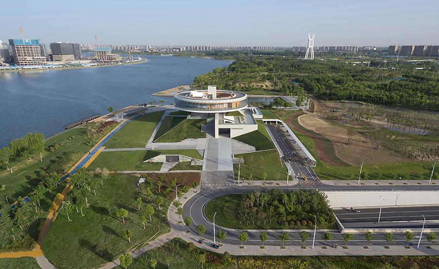 Birdeye view of the site Su Chen