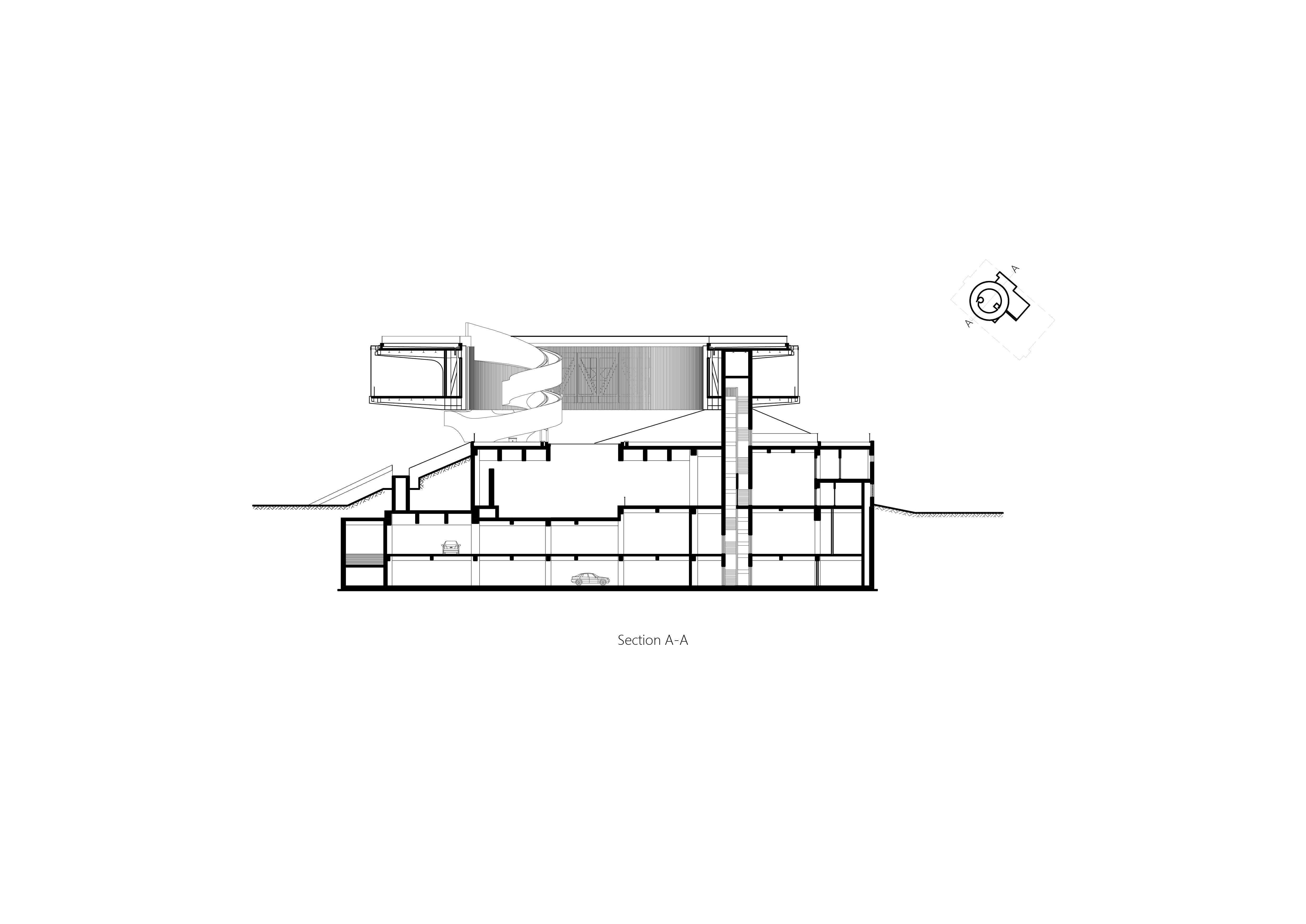 Section A-A Studio A+}