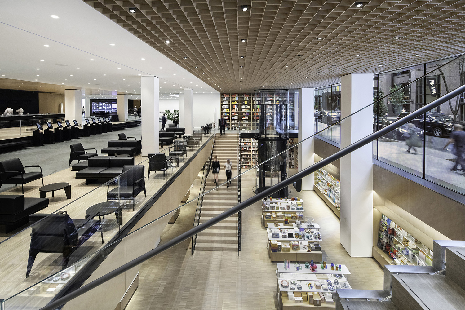 Interior view of The Museum of Modern Art, Flagship Museum Store Photography by Brett Beyer