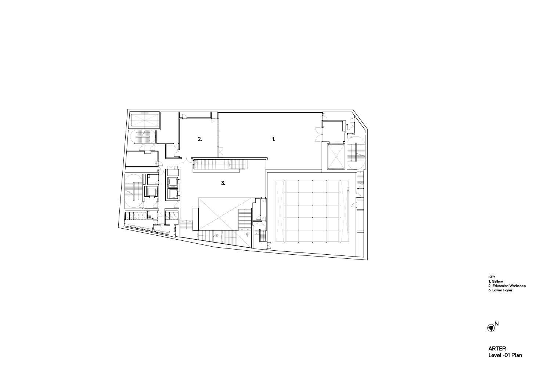 Arter GA Plan Level -01 Grimshaw}