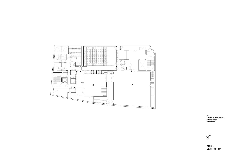 Arter GA Plan Level -03 Grimshaw}
