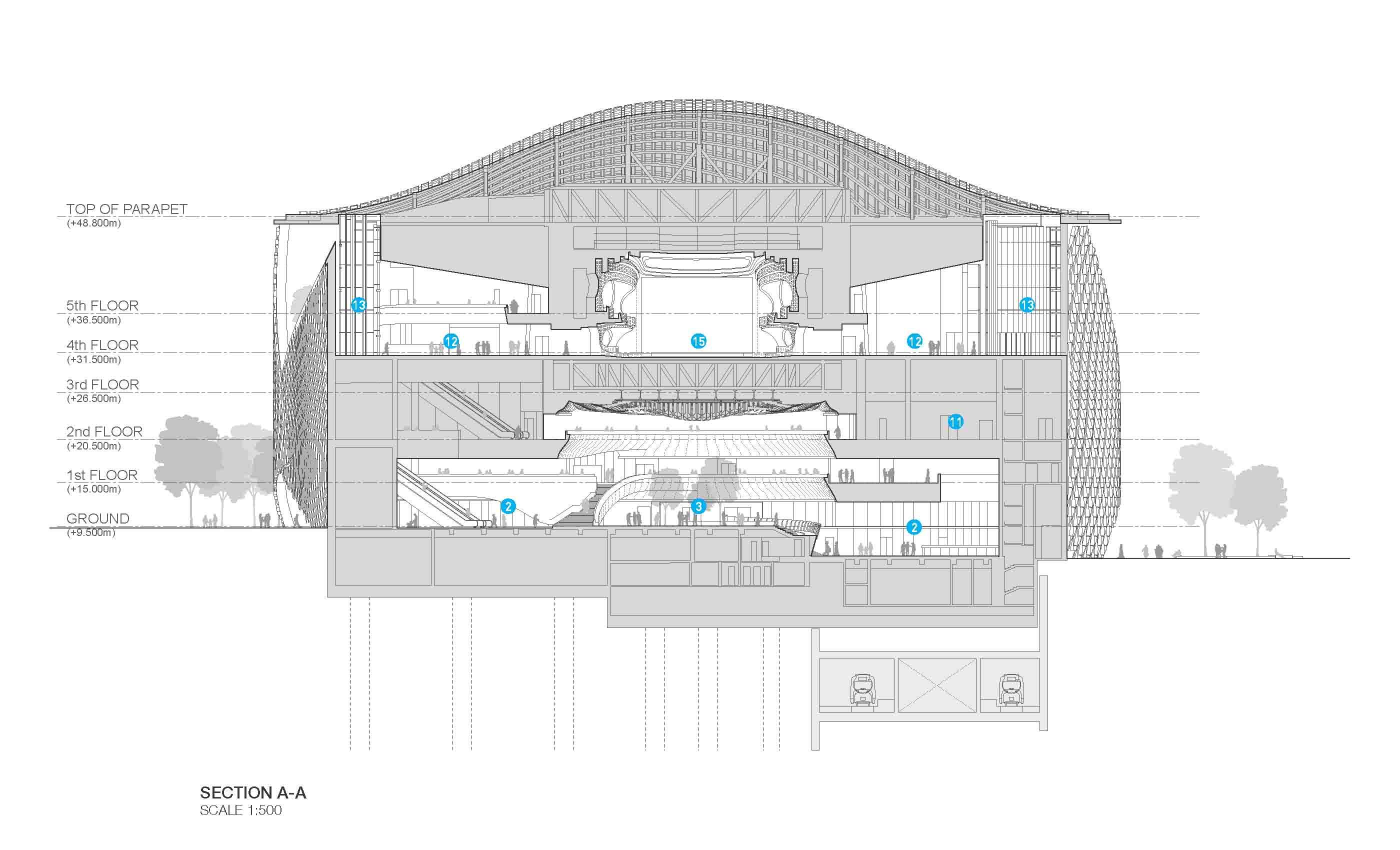 Xiqu Centre Section Revery Architecture Inc.}