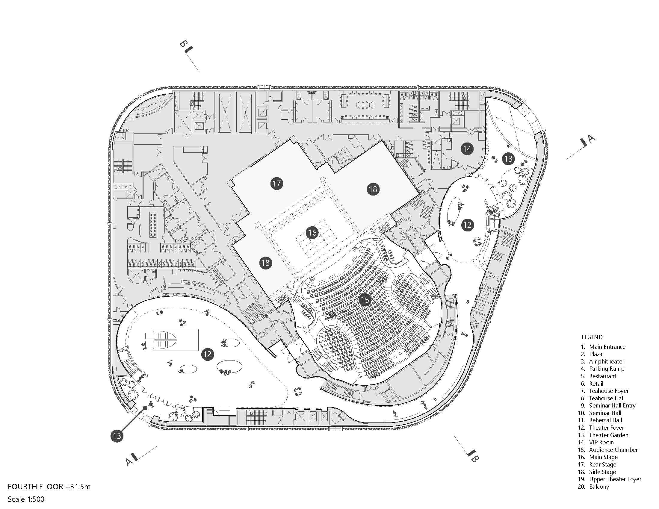Xiqu Centre Plan Revery Architecture Inc.}