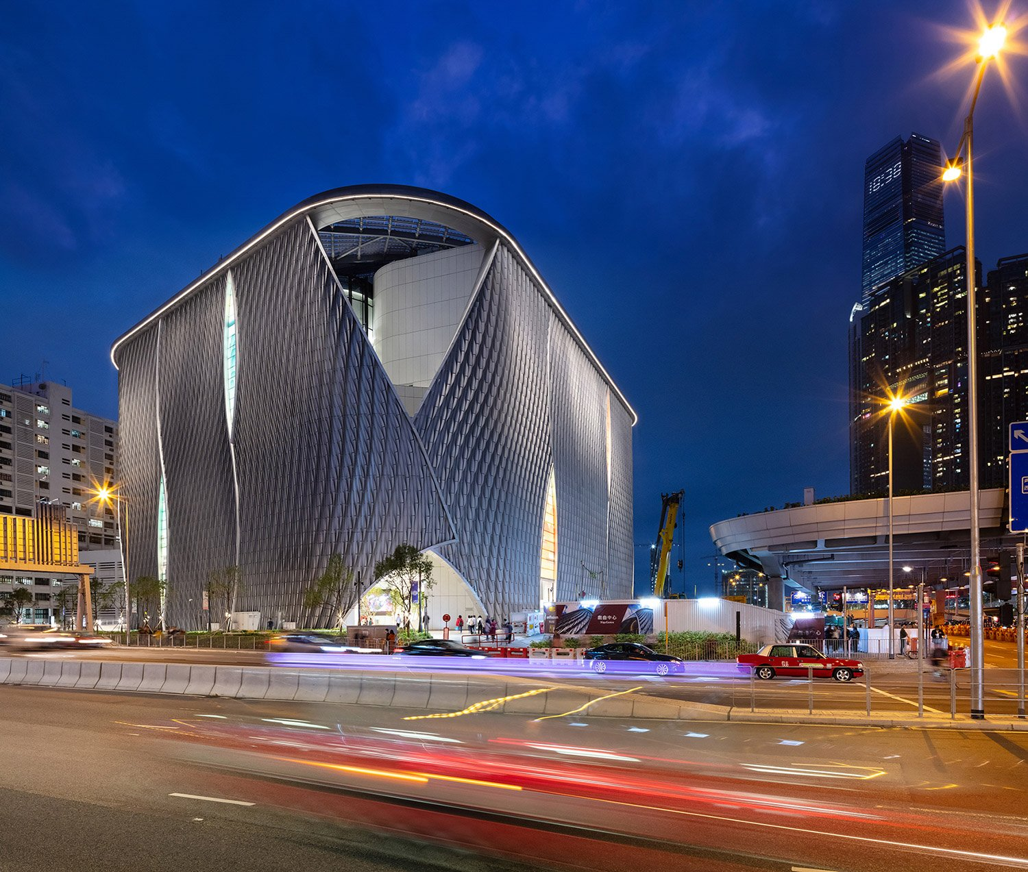 Xiqu Centre creates a striking landmark as the gateway to Hong Kong's new West Kowloon Cultural District Ema Peter - Ema Peter Photography: www.emapeter.com