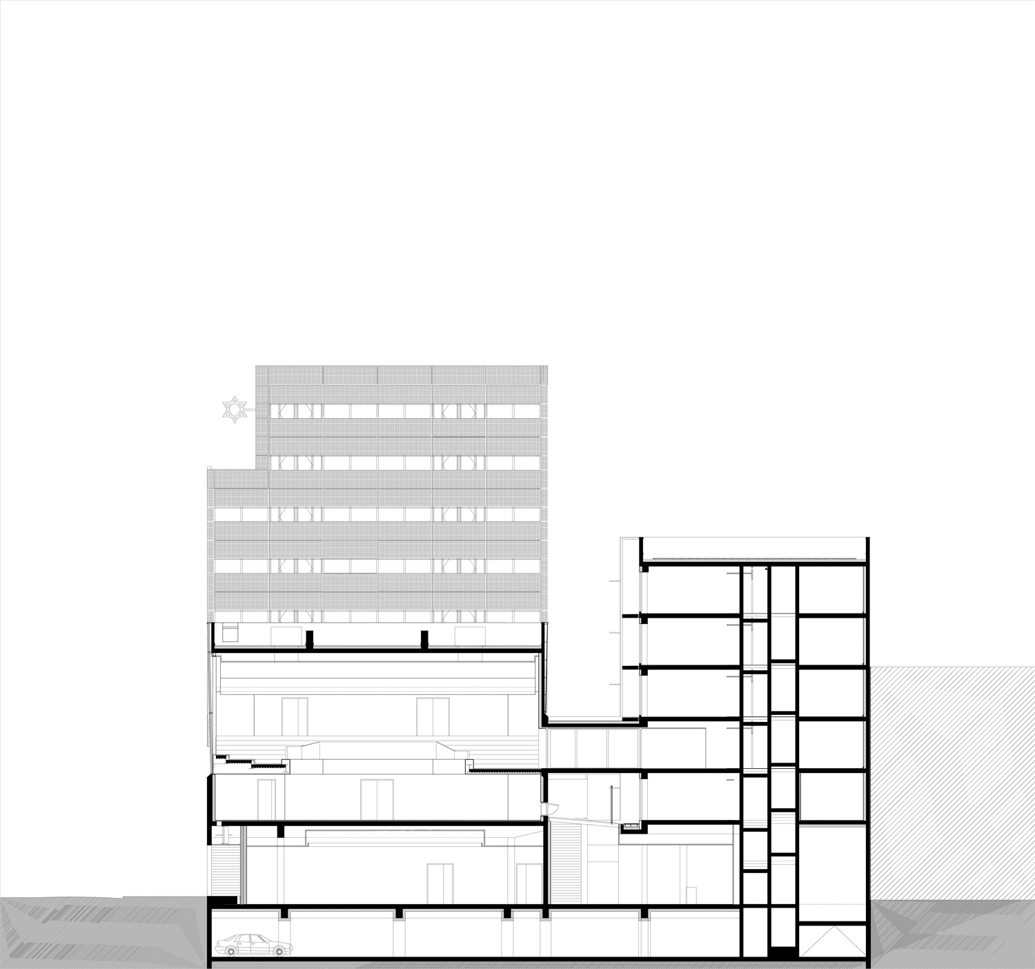transversal section 1 ©StéphaneMaupinArchitecture}