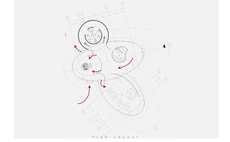 layou plan Harmony World Consultant & Design}