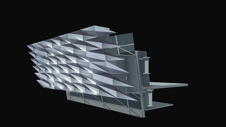 Facade texture rendering gad · line+ studio}