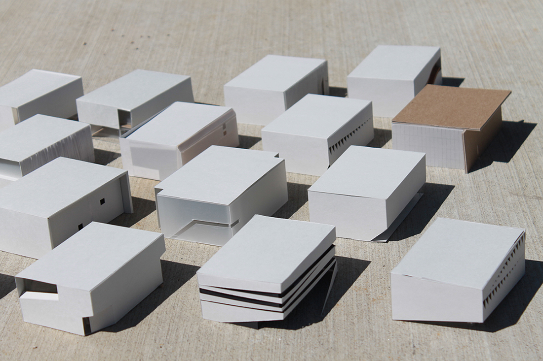 Study Models Sparano + Mooney Architecture}
