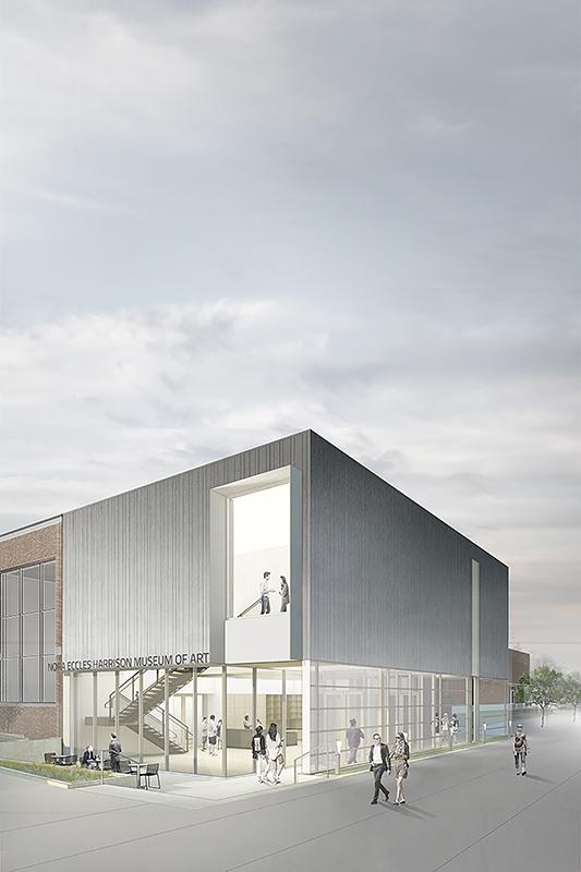Three Quarter View Rendering Sparano + Mooney Architecture}
