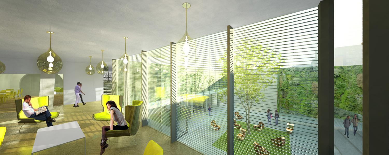 Sala di lettura Area Progetti