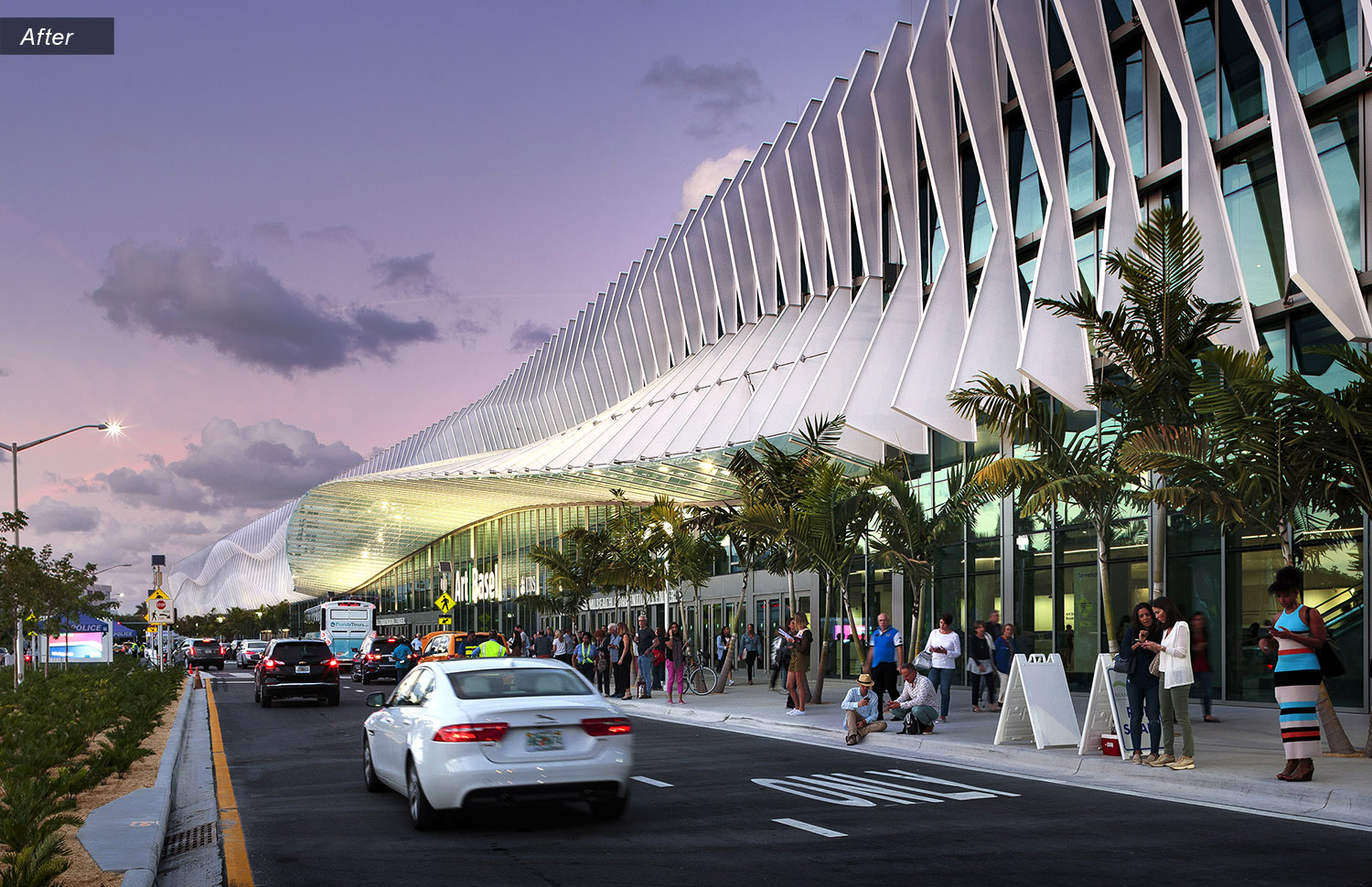 The redesigned MBCC has reimagined the center – and Miami Beach – as a global hub for arts, culture, and technology. © Tom Clark