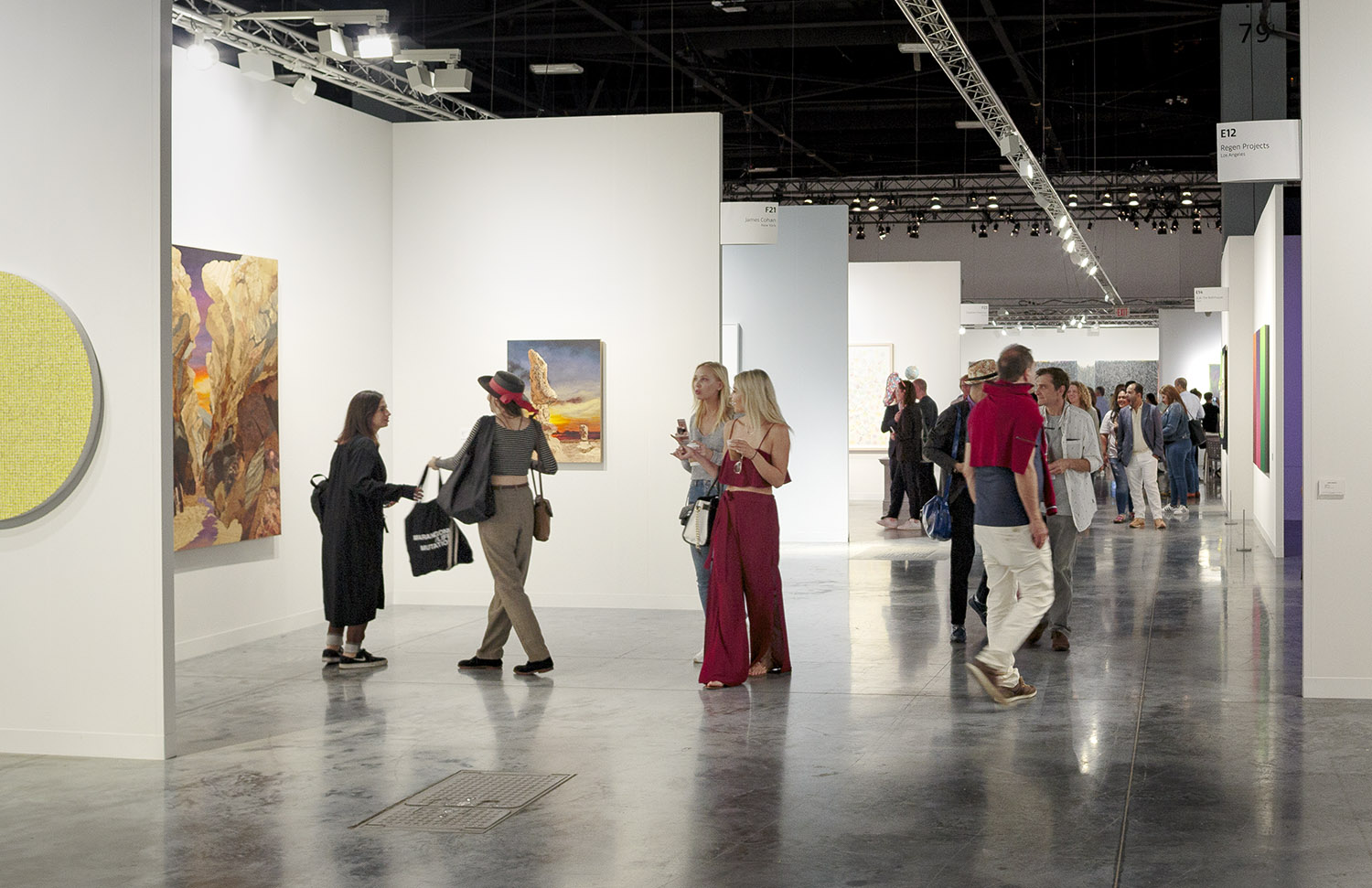 MBCC hosts Art Basel Miami Beach – a premier contemporary art fair – welcoming a record 83,000 visitors from around the world. © Tom Clark