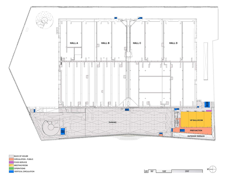 LEVEL 04 PLAN Fentress Architects}