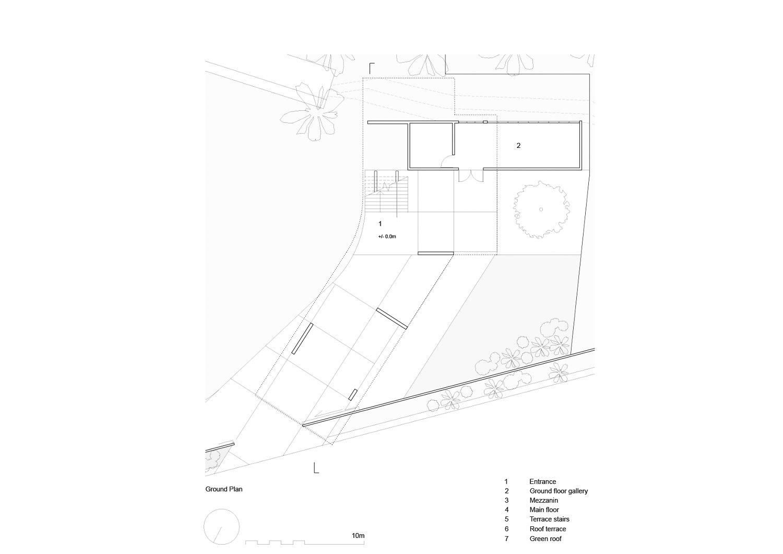 Ground Floor Plan nav_s baerbel mueller + Juergen Strohmayer}