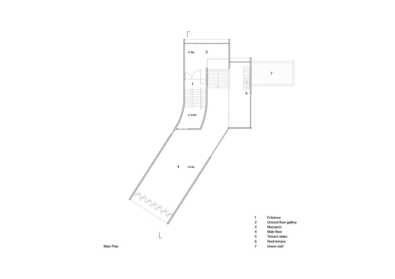 Main Floor Plan nav_s baerbel mueller + Juergen Strohmayer}