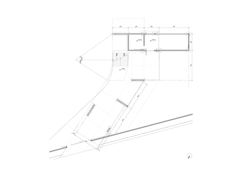 Ground Floor Plan (Construction) nav_s baerbel mueller + Juergen Strohmayer}