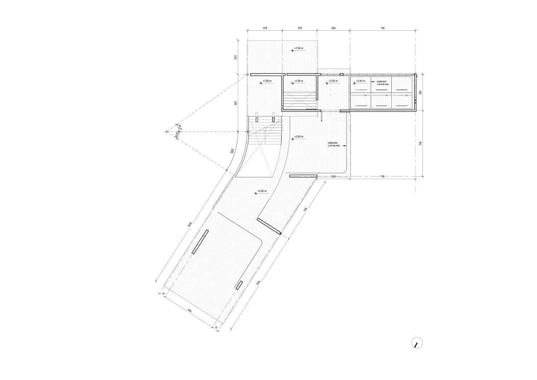 Ground Floor Reflected Ceiling Plan (Construction) nav_s baerbel mueller + Juergen Strohmayer}