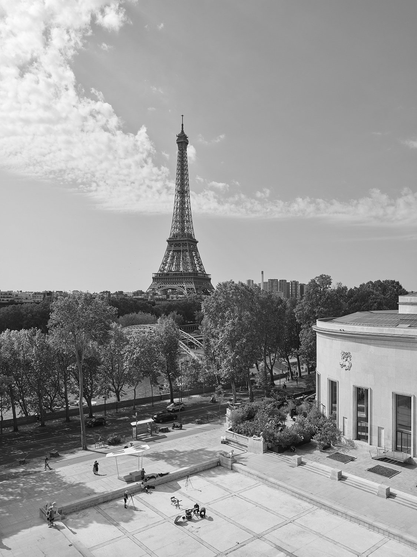 Eiffel Tower from the Musée d'Art Moderne Stéphane Chalmeau